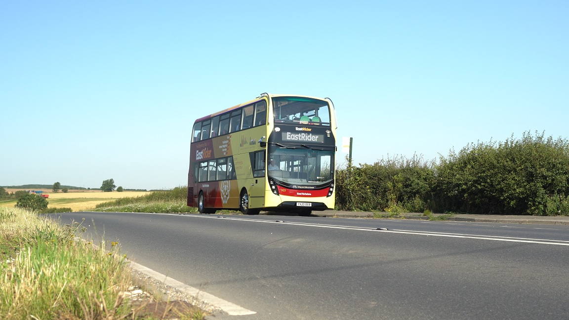 East Rider brand new bus